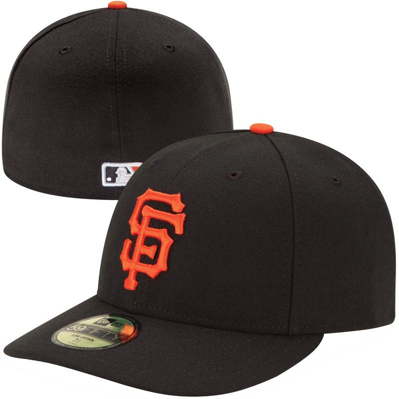 228d0a2a22194 San Francisco Giants New Era Authentic Collection Low Profile Home 59FIFTY  Fitted Hat - Black