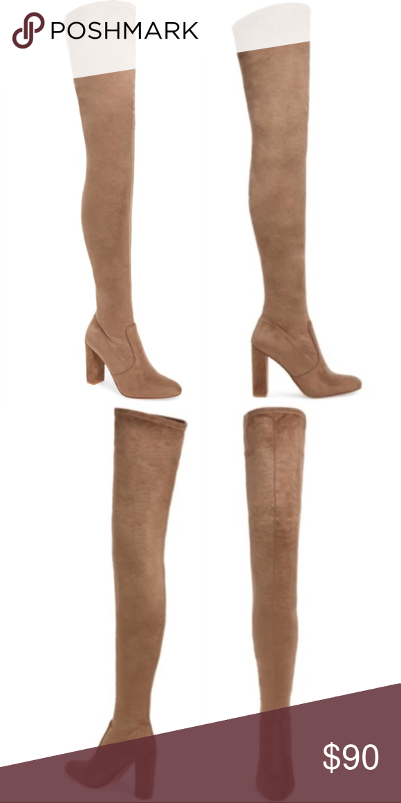 7cd5bf83b83 NEW Steve Madden Ezra Over The Knee Thigh Boots Brand new! Size 6. Gorgeous