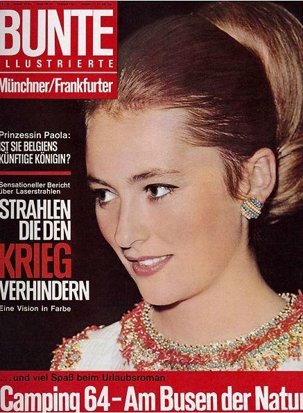 1964: Paola von Belgien