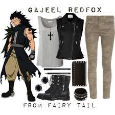 Outfit - Gajeel Fairy Tail | Anime inspired outfits ...