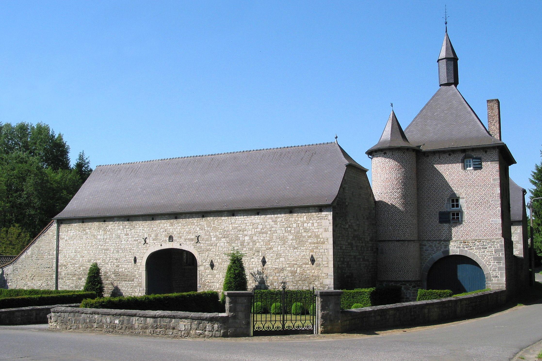 Castlefarm Marchand in Mozet Province of Namur Belgium Ferme