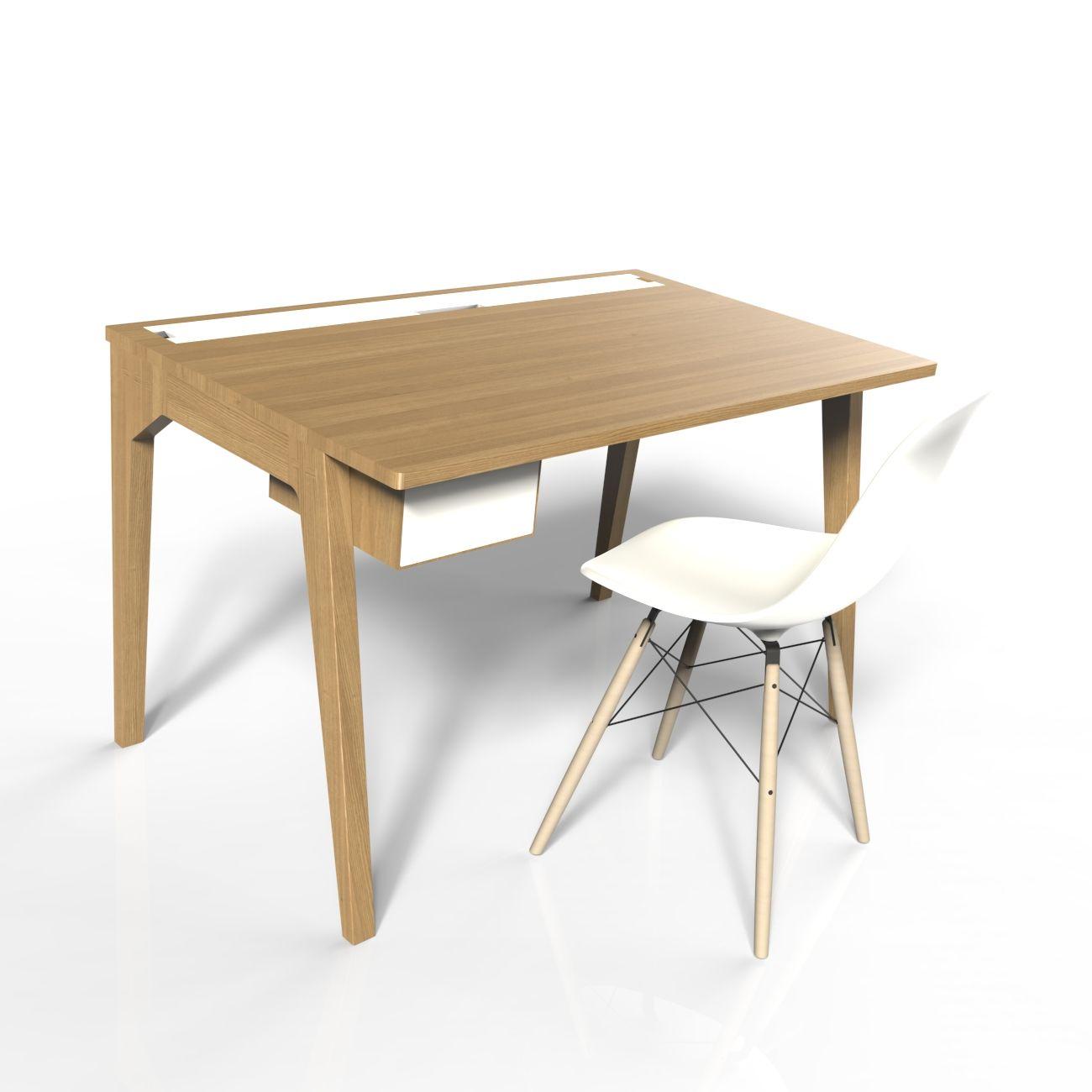 The Desk Scriba Le Bureau Scriba Par Osmose Le Bois Est Ideal Pour Les Nouveaux Usages Connectes Comme Pour Ceux De Toute Furniture Furniture Design Design