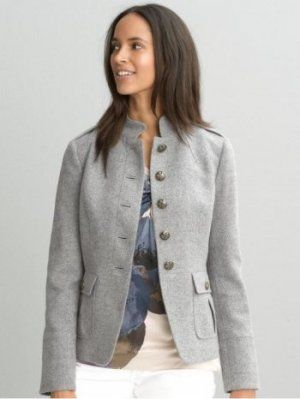 Textured military jacket from Banana Republic. Have this and want another in a different colour