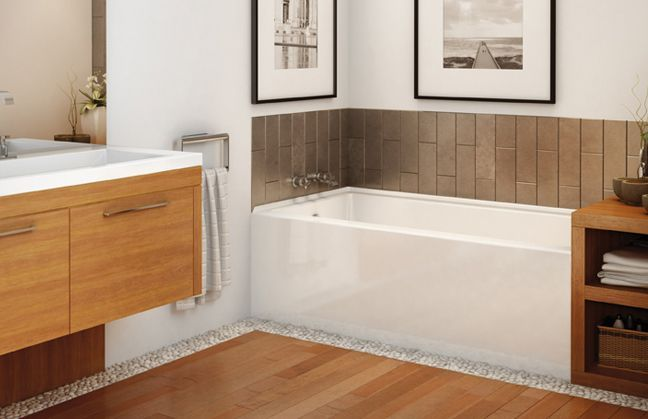 Tile flange alcove tub | Tub tile | Pinterest | Alcove, Tubs and ...
