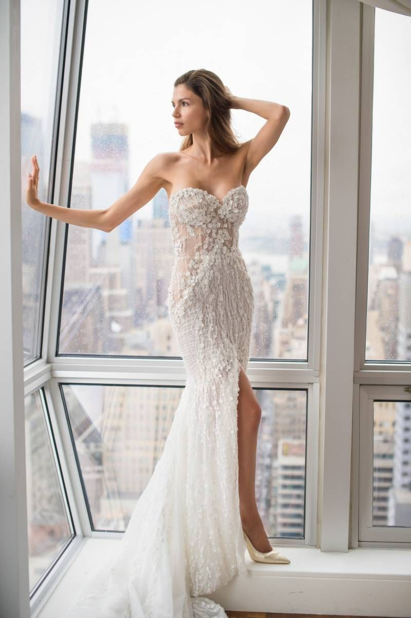 c2a1863ef53 Pallas Couture  La Blanché in NYC via Pacific Weddings