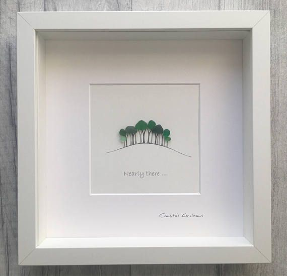 Nearly there trees, Cookworthy Knapp A30 trees Cornwall | Pebble art ...