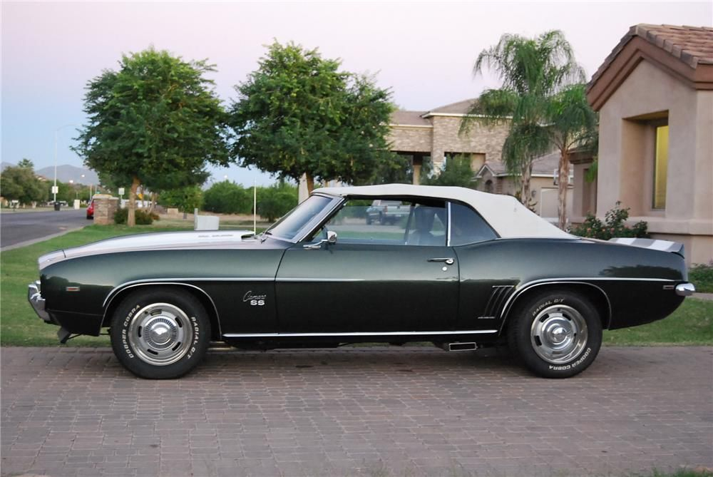 1969 CHEVROLET CAMARO SS CONVERTIBLE – Barrett-Jackson Auction Company – World's Greatest Collector Car Auctions
