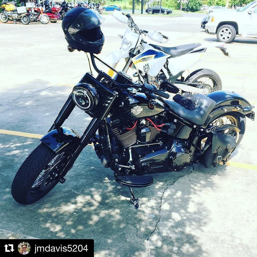 Our Finance Director John Mark has been adding to his Softail Slim S ...