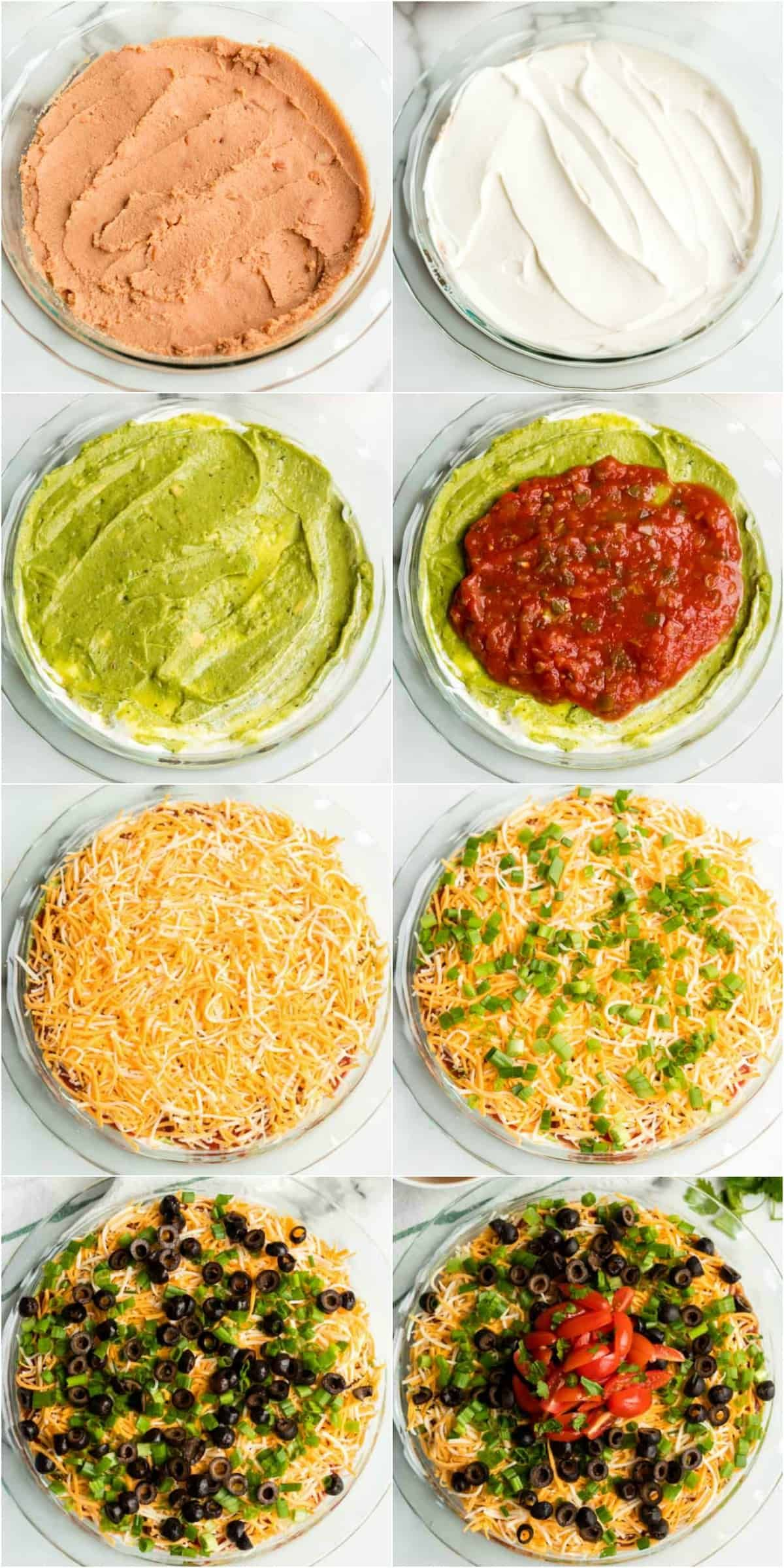 The Best 7 Layer Dip {Easy Recipe}
