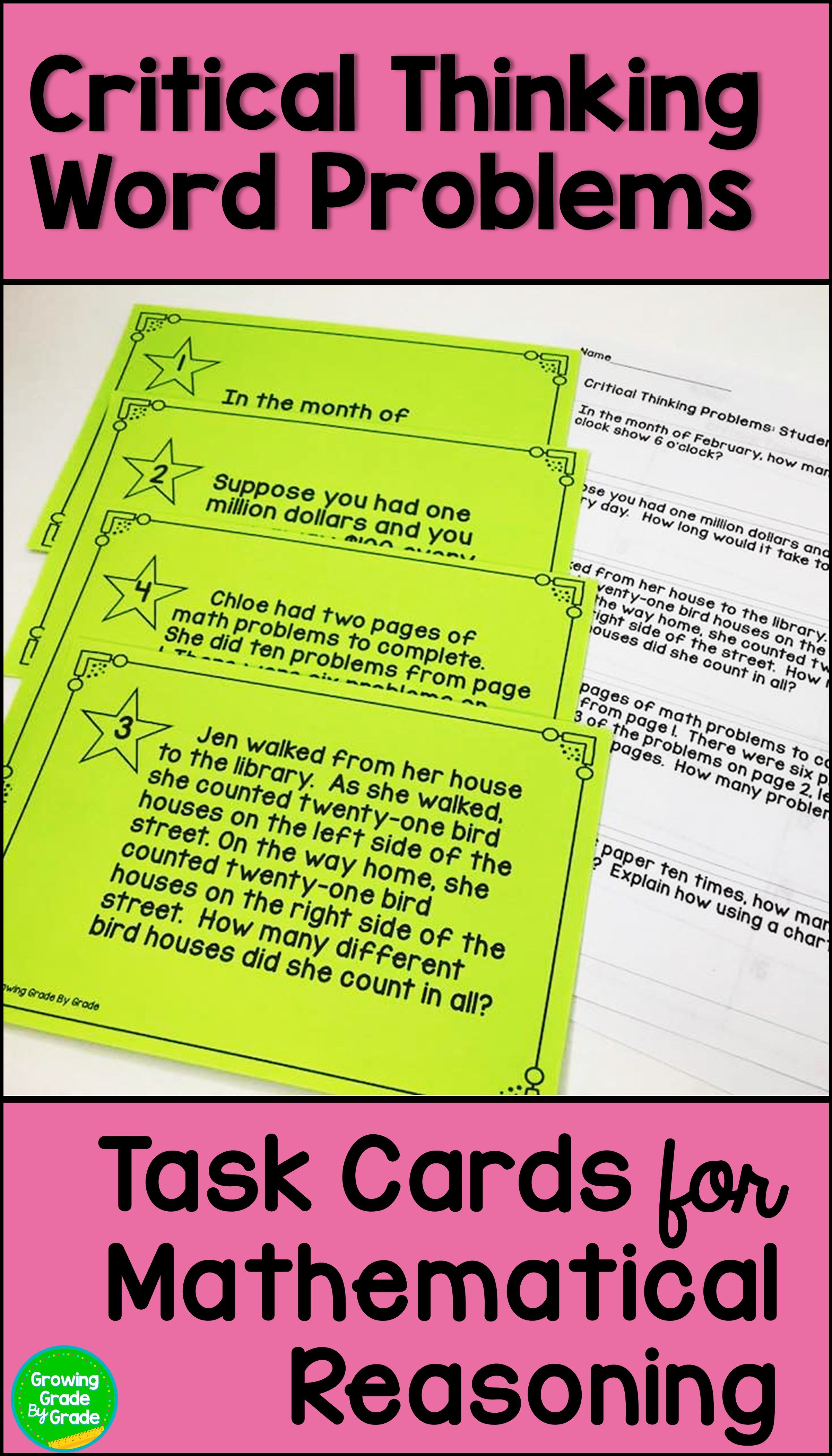 Critical Thinking Worksheets For   Printable Worksheets and Activities for  Teachers [ 4200 x 2400 Pixel ]