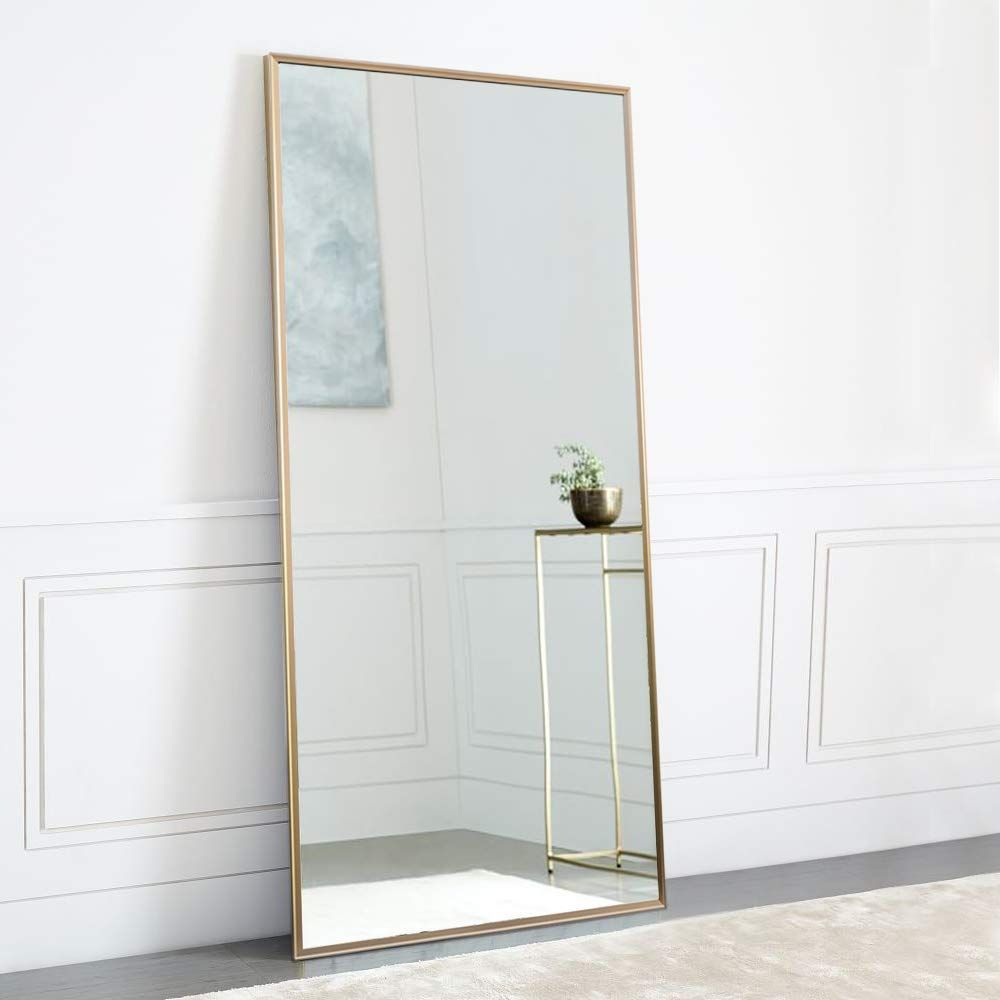 luxe qualité incroyable prix pas cher Amazon.com: NeuType Full Length Mirror Standing Hanging or ...