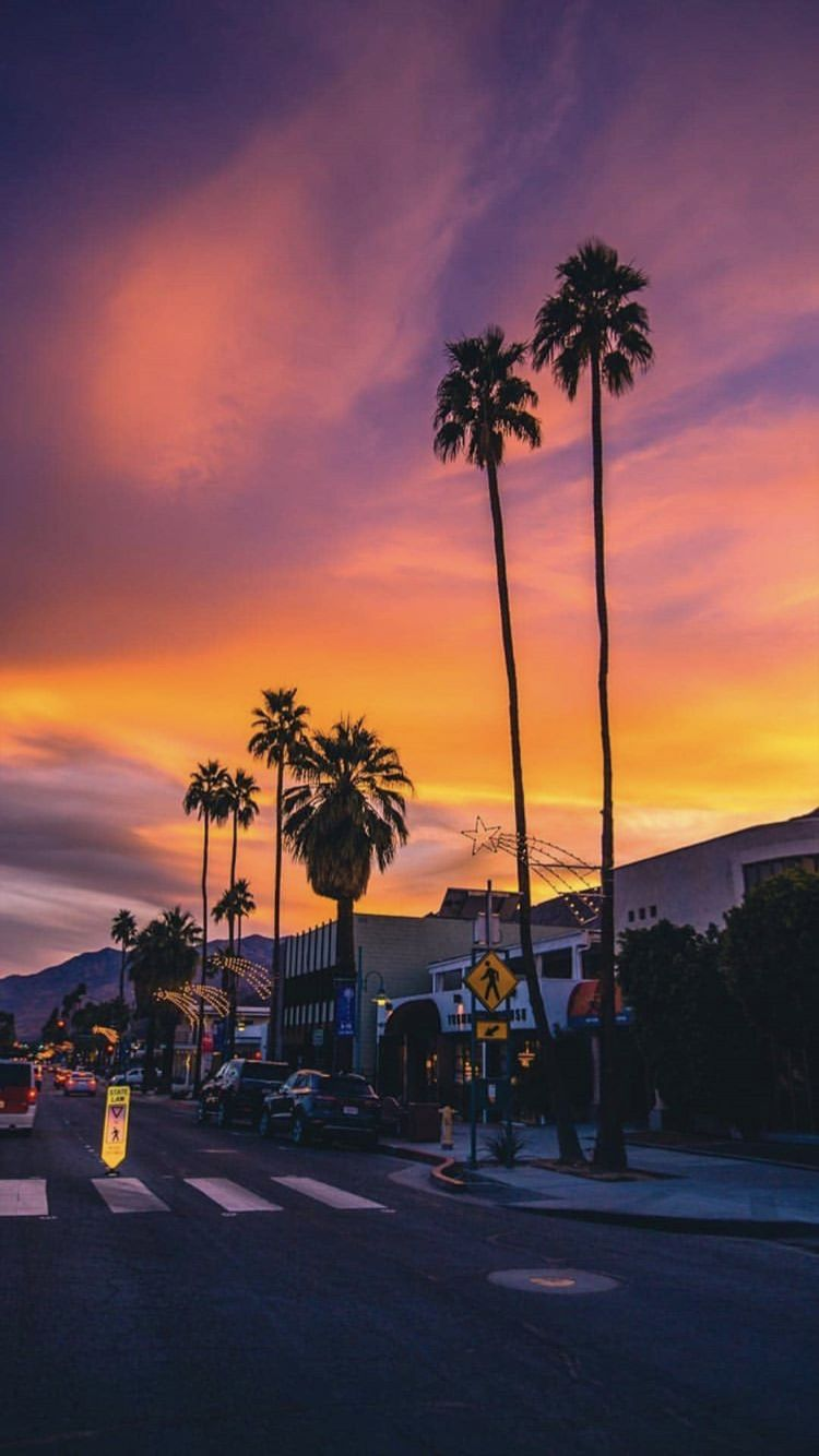 Los Angeles Sunset Pictures Sunset Wallpaper Sky Aesthetic