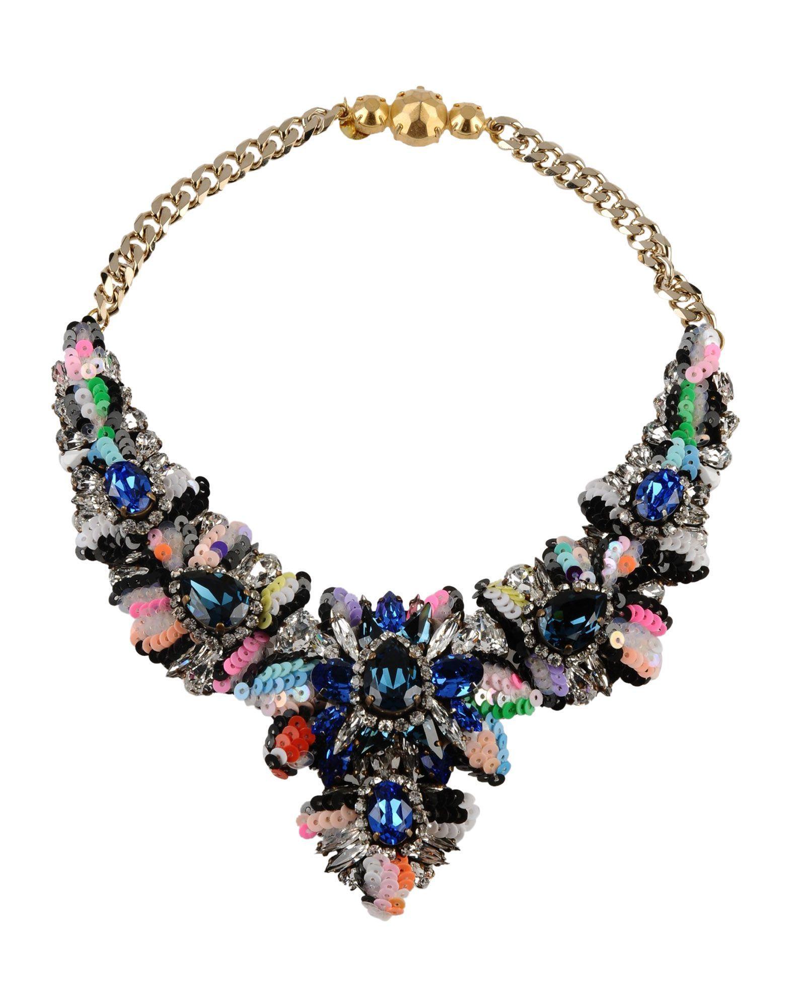 Shourouk Necklace on YOOX