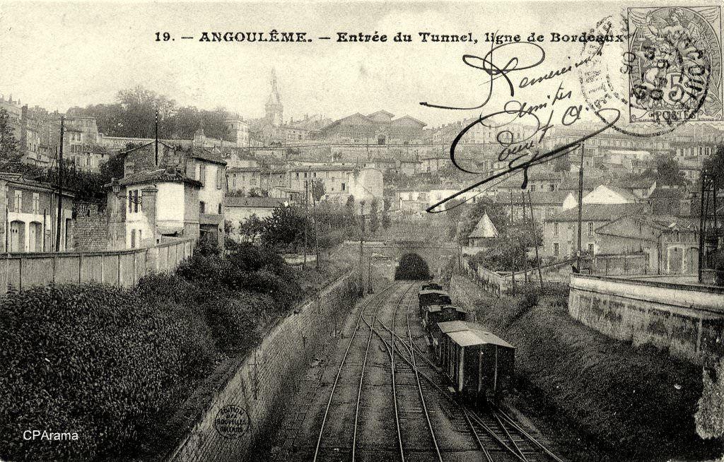 Angoulême (16)   Carte postale, Départements français, Cartes postales anciennes