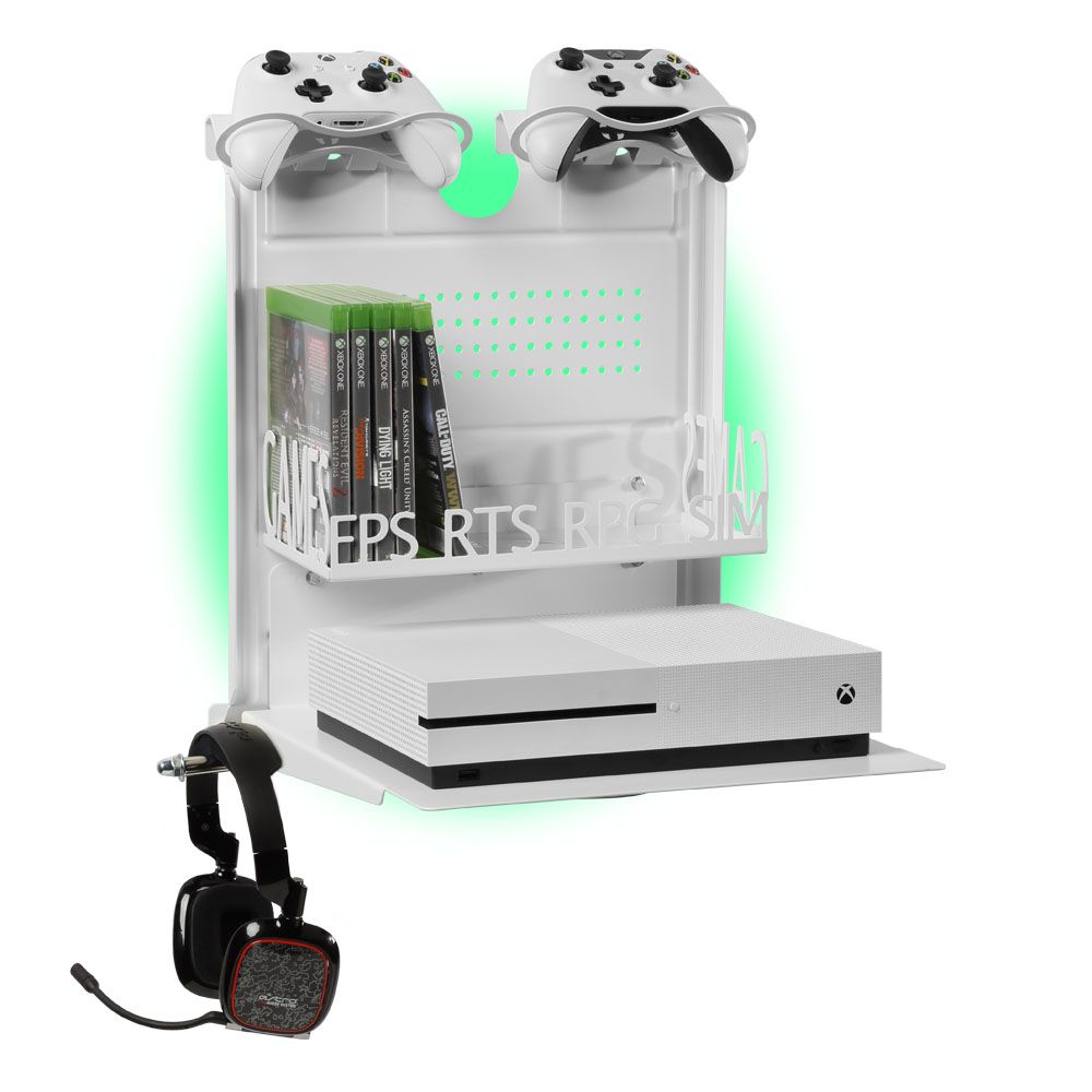 Horizontal Wall Mount Xbox And Ps4 Gameside Bundle Big Daddy Magic Products In 2019 Xbox Wall Mount Xbox One S