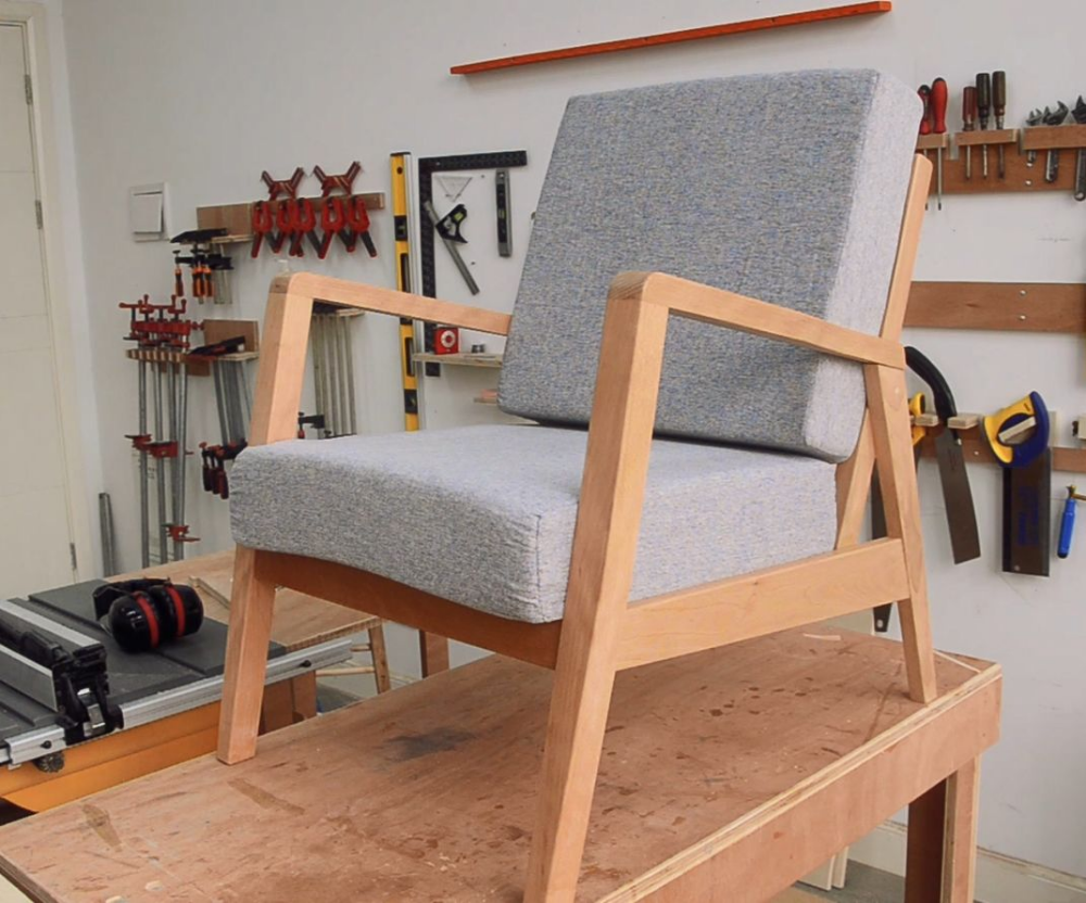 Awesome Mid Century Diy Chair