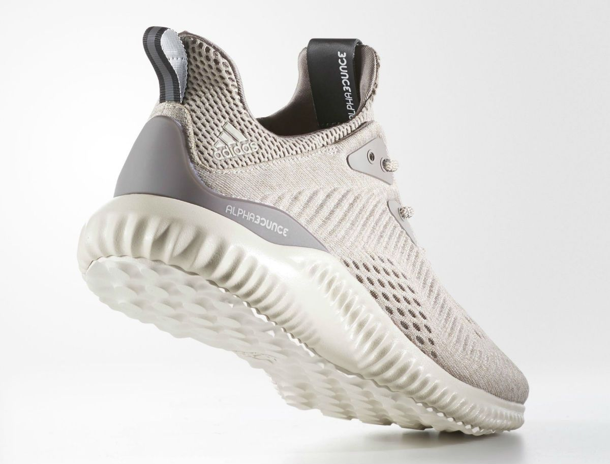 Adidas AlphaBounce EM Tech Earth Clear Brown Crystal White Lateral