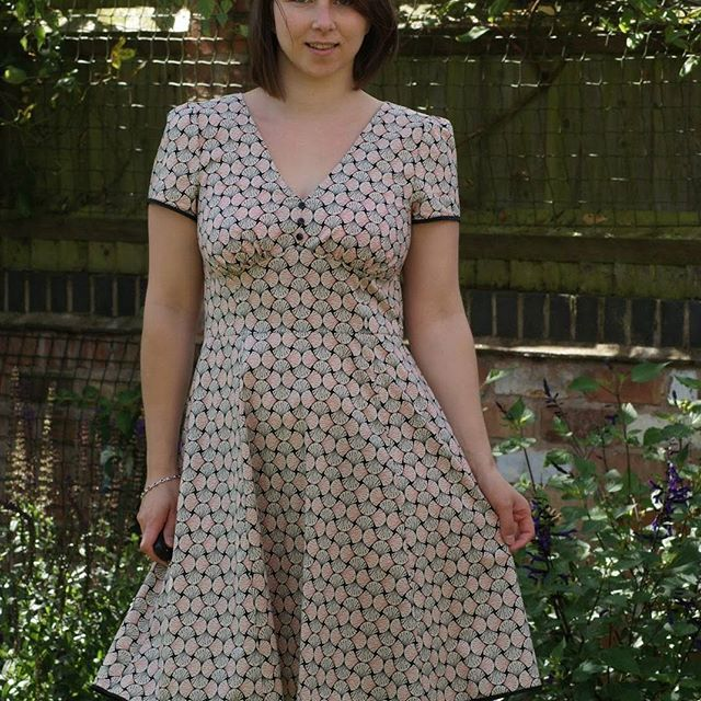 SOIshowoff March: Sew Over It 1940s Tea Dress | Dresses | Pinterest ...