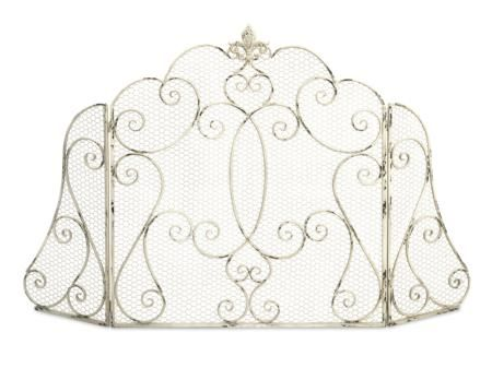 Hargill Fireplace Screen - The Hargill fireplace screen features a ...