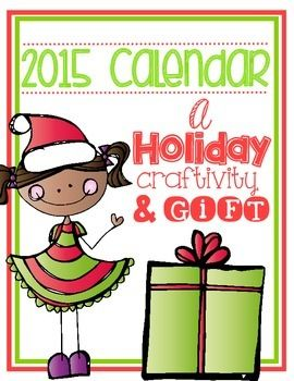 parent christmas gift 2015 calendar such a fun project for kids to make