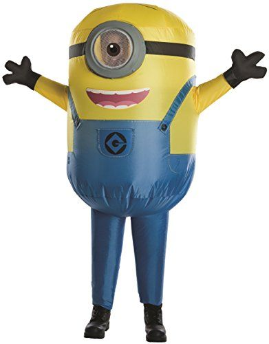 Despicable Me Minion Stuart Inflatable Child Costume Costumes - lowes halloween inflatables