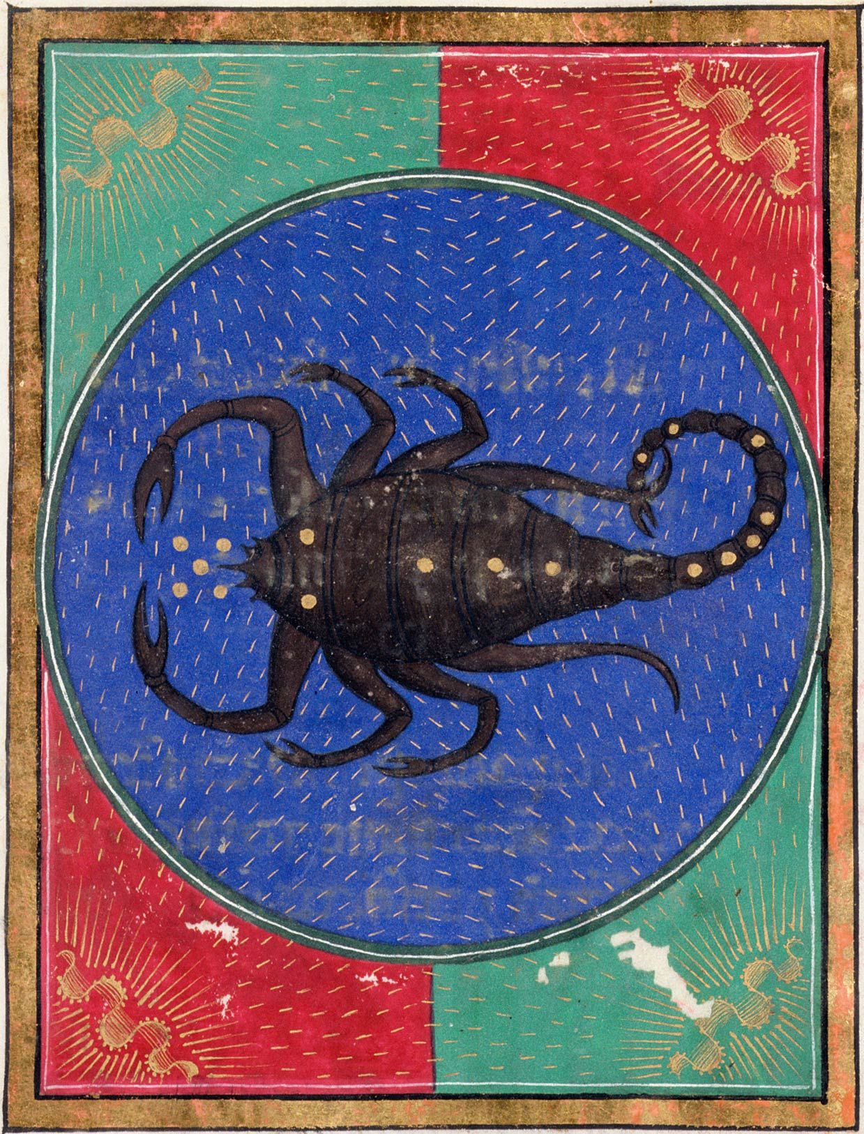 Scorpio | Book of Hours | ca. 1473 | The Morgan Library & Museum