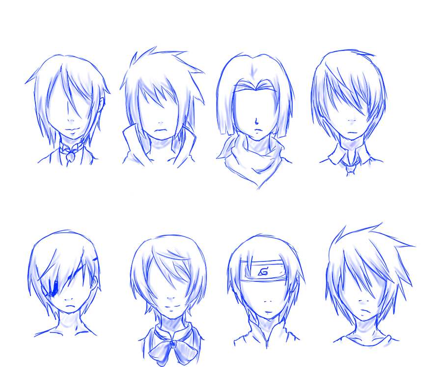 Guy Hair Styles Especially For Anime Anime Boy Hair Anime Hairstyles Male Chibi Hair