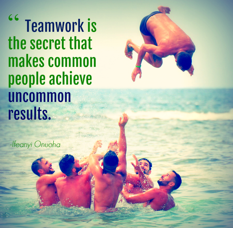 Motivational Quotes For Sports Teams: Inspirational Teambuilding Quote
