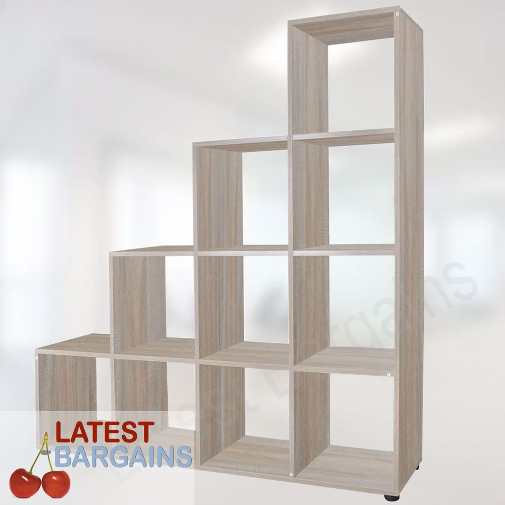 Details About 10 Cube Bookcase Display Stand Rack Unit Book Shelf Storage Furniture New Cube Bookcase Storage Furniture Storage Shelves
