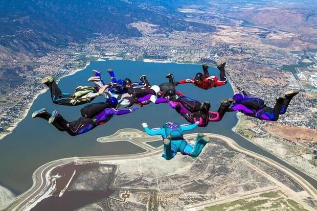 Our school has different training Perris Valley Skydiving