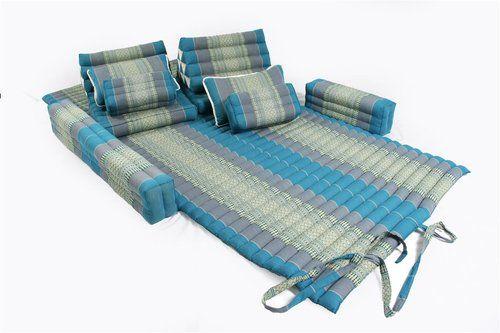 Thai Cushion Set Kapok Mat Matress Traditional Design Futon Lounge Daybed Floor Ebay