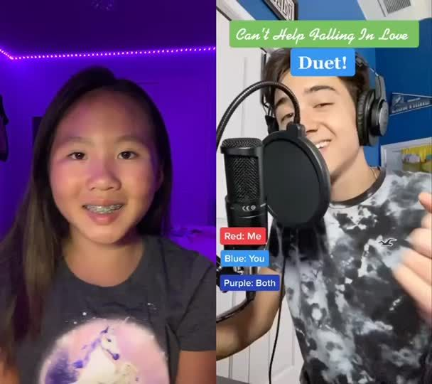 Pin By Monika Molya On Nu Cant Help Falling In Love Duet Singing