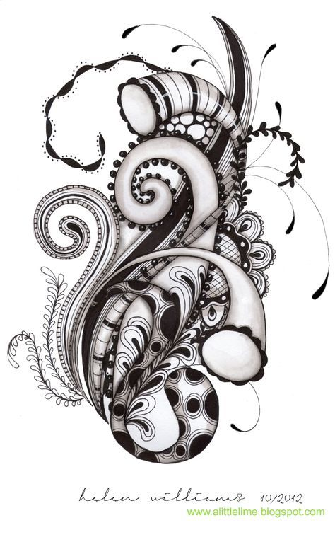 Pin Von Silke Grünert Auf Nail Art Bilder Pinterest Zentangle