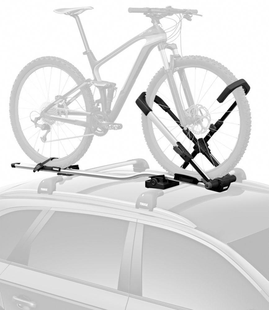 Transporting a Fat Bike on a Thule Echelon roof rack- Mtbr.com  |Fat Bike Roof Rack Thule
