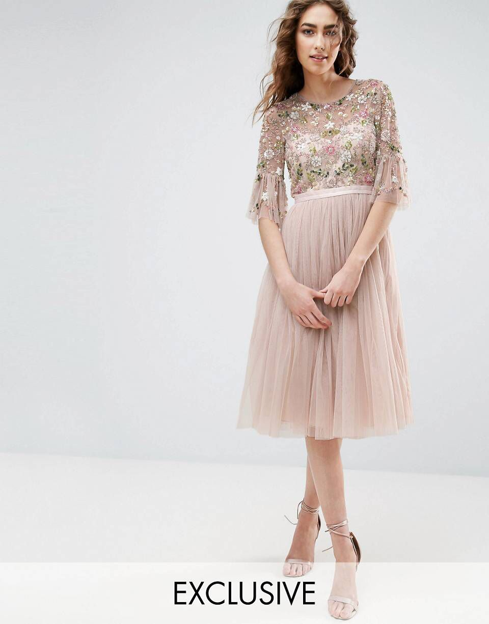 Love This From Asos Kleider Hochzeit Bestickte Kleider Romantische Kleider
