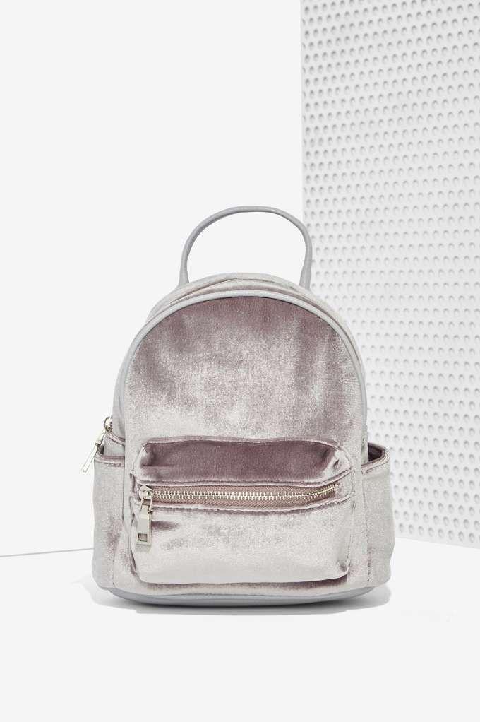 dd0b8eeffb90 Margot Velvet Mini Backpack