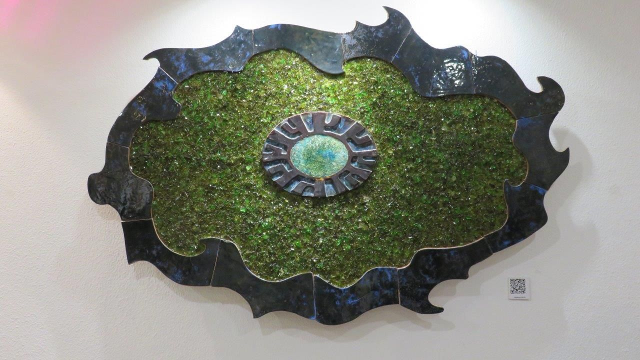 """BigBang  obra apresentada ao público em Junho de 2015 na exposição """"Pluralidades"""" que decorreu na oficina da Cultura de Almada   150 x 100 cm"""