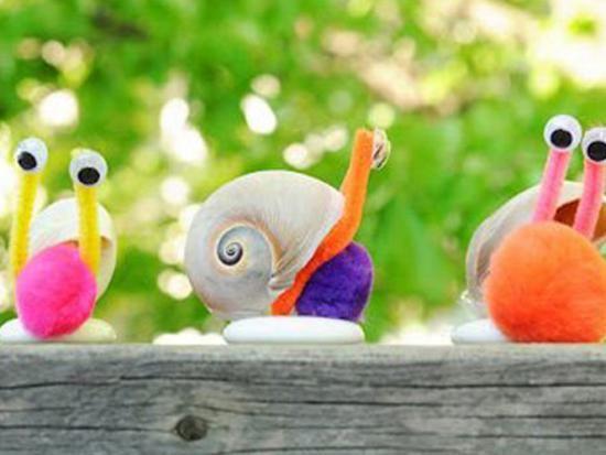 Bricoler avec des coquillages bricolage enfant - Bricolage avec coquillage ...