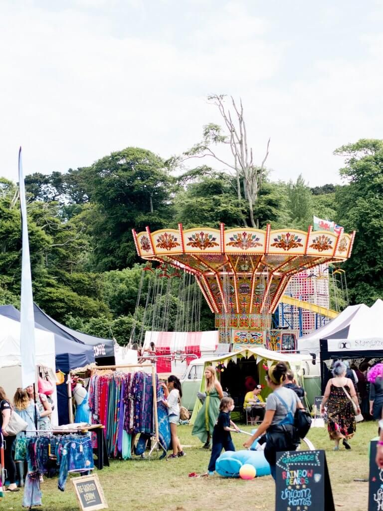 The Great Estate Festival at Scorrier House Camping