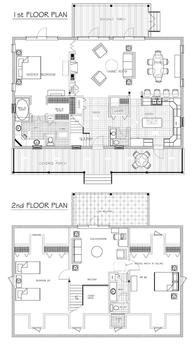 Small House Plans Cottage Floor Plans Small House Floor Plans Two Story House Plans