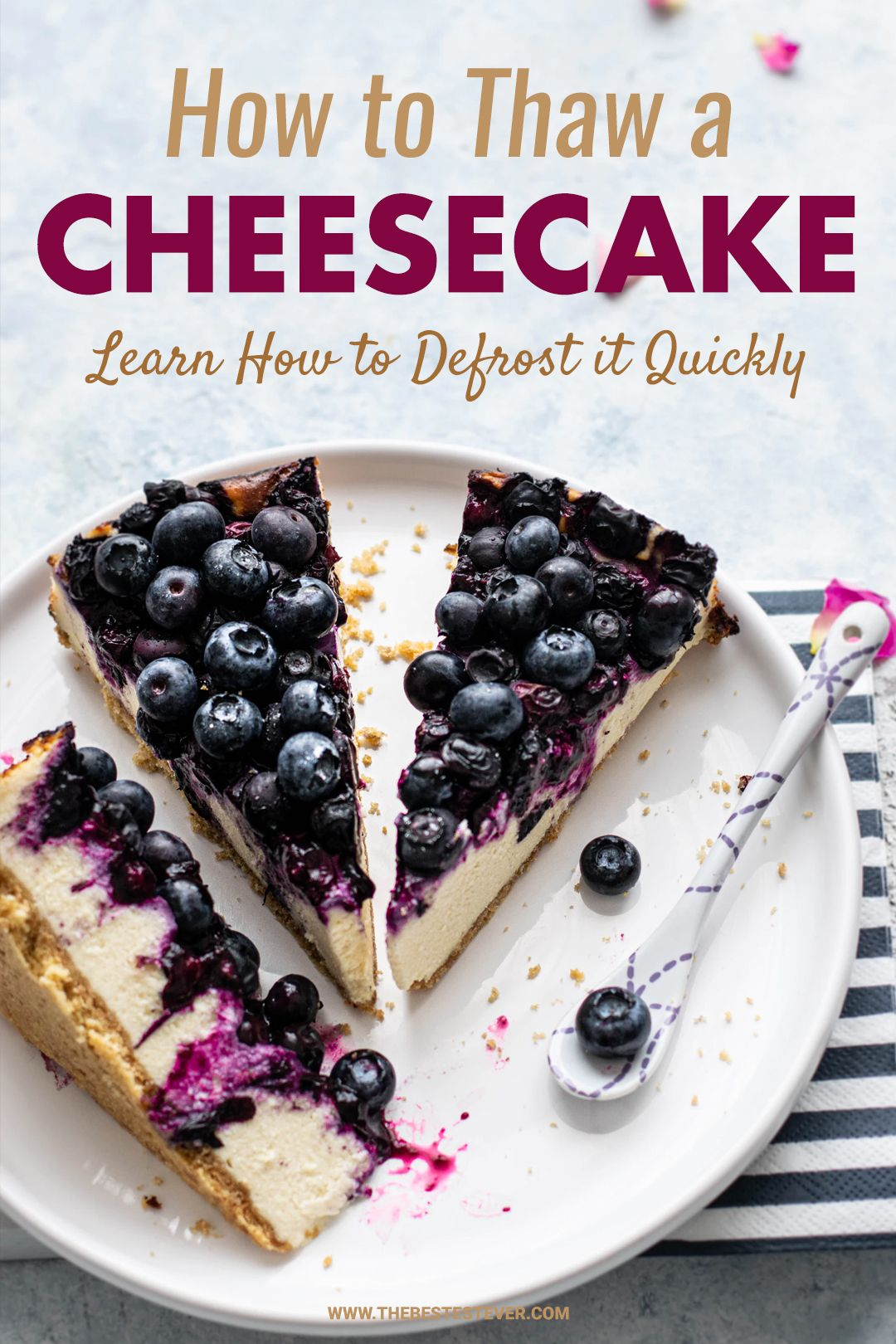 How To Thaw Defrost Cheesecake Quickly 2 Best Methods Highlighted Food Cheesecake Frozen Cheesecake
