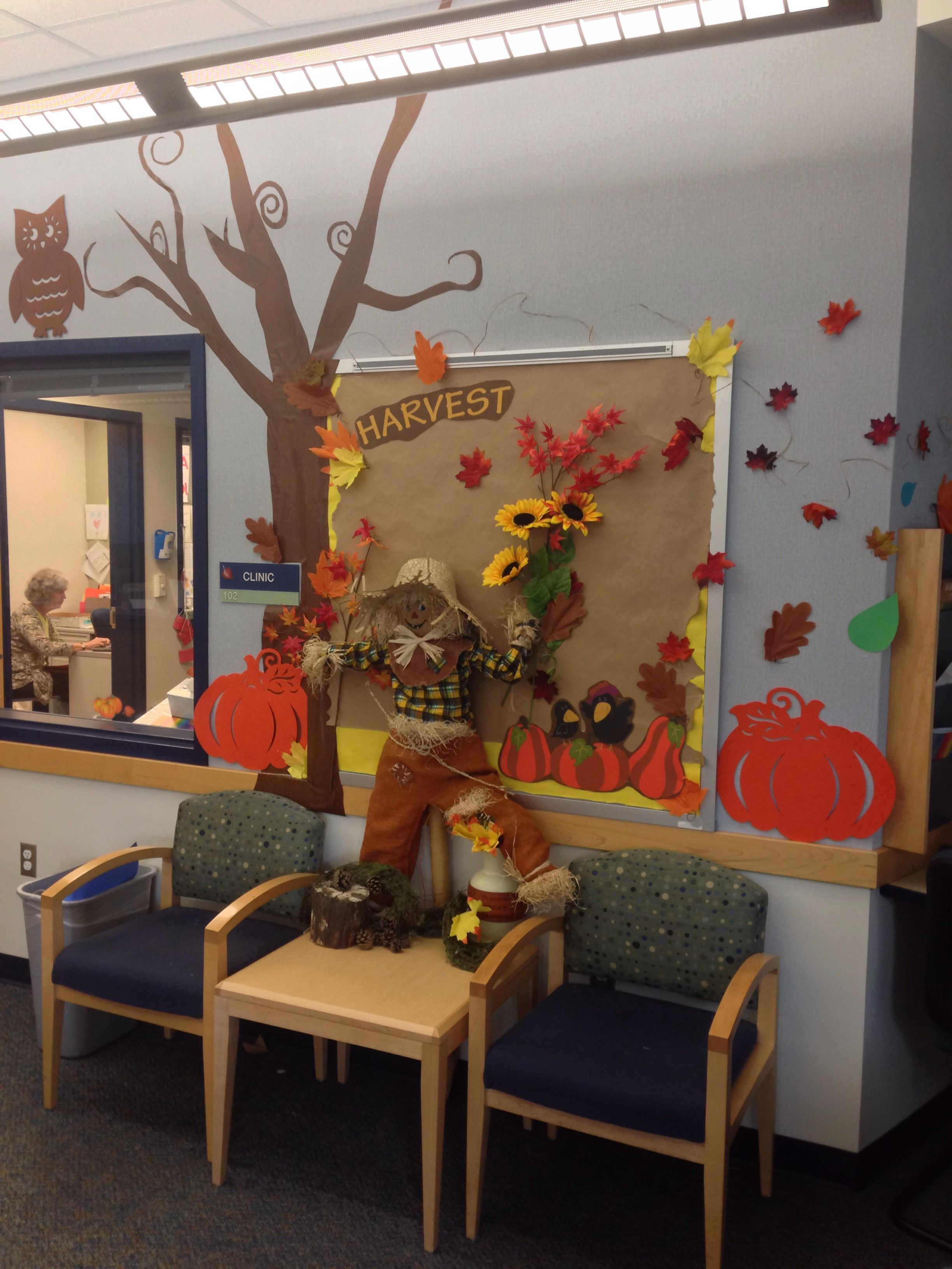 School Clinic Decorations School Office Fall Decorations Display And Merchandising Clever