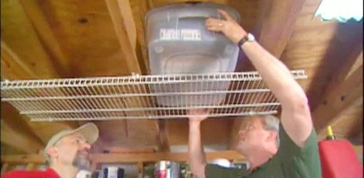Photo of Installing Overhead Shelving in a Garage or Workshop | Today's Homeowner