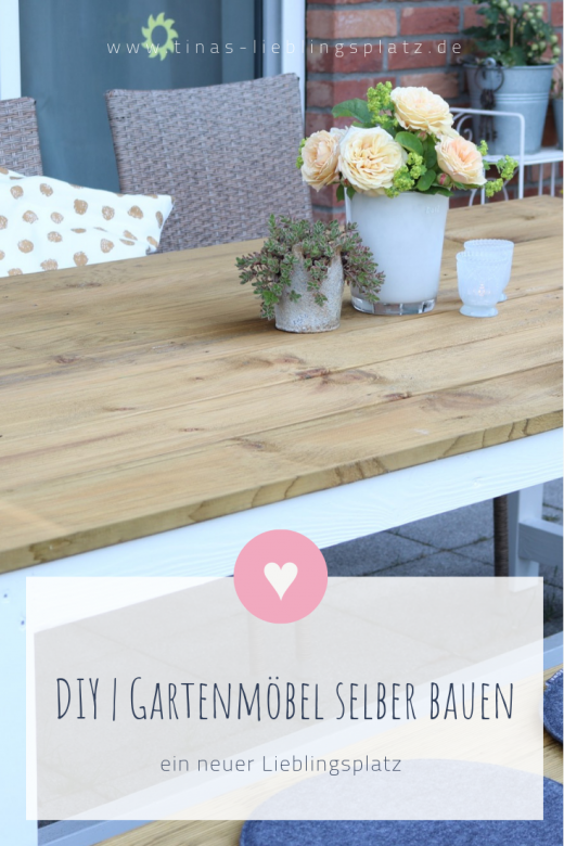 DIY | Gartenmöbel selber bauen #woodprojects