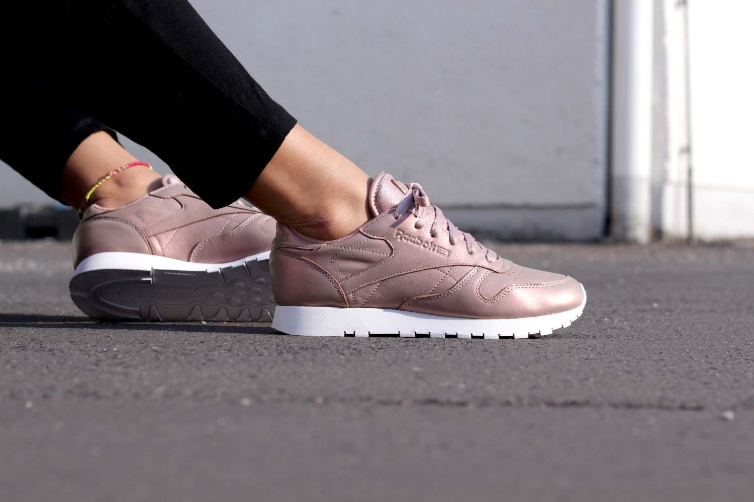 736fb143f Reebok Classic Leather Pearlized Rose Gold