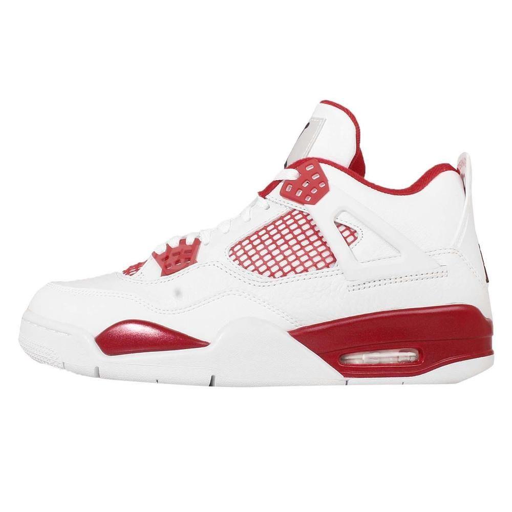 Nike Air Jordan 4 Retro Alternate 89 308497 106 Men basketball shoes