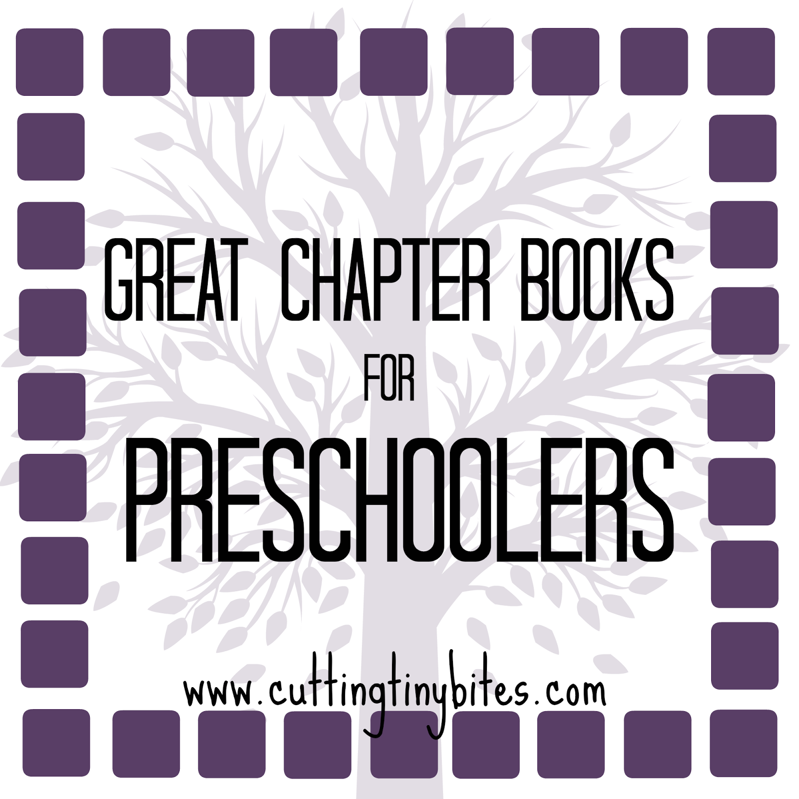Chapter Books for Preschoolers.  Great read aloud choices.