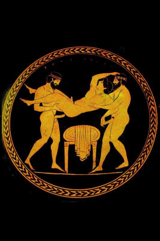 Erotische Griechenland Bild Rom, Maelesa nackt oder nackt