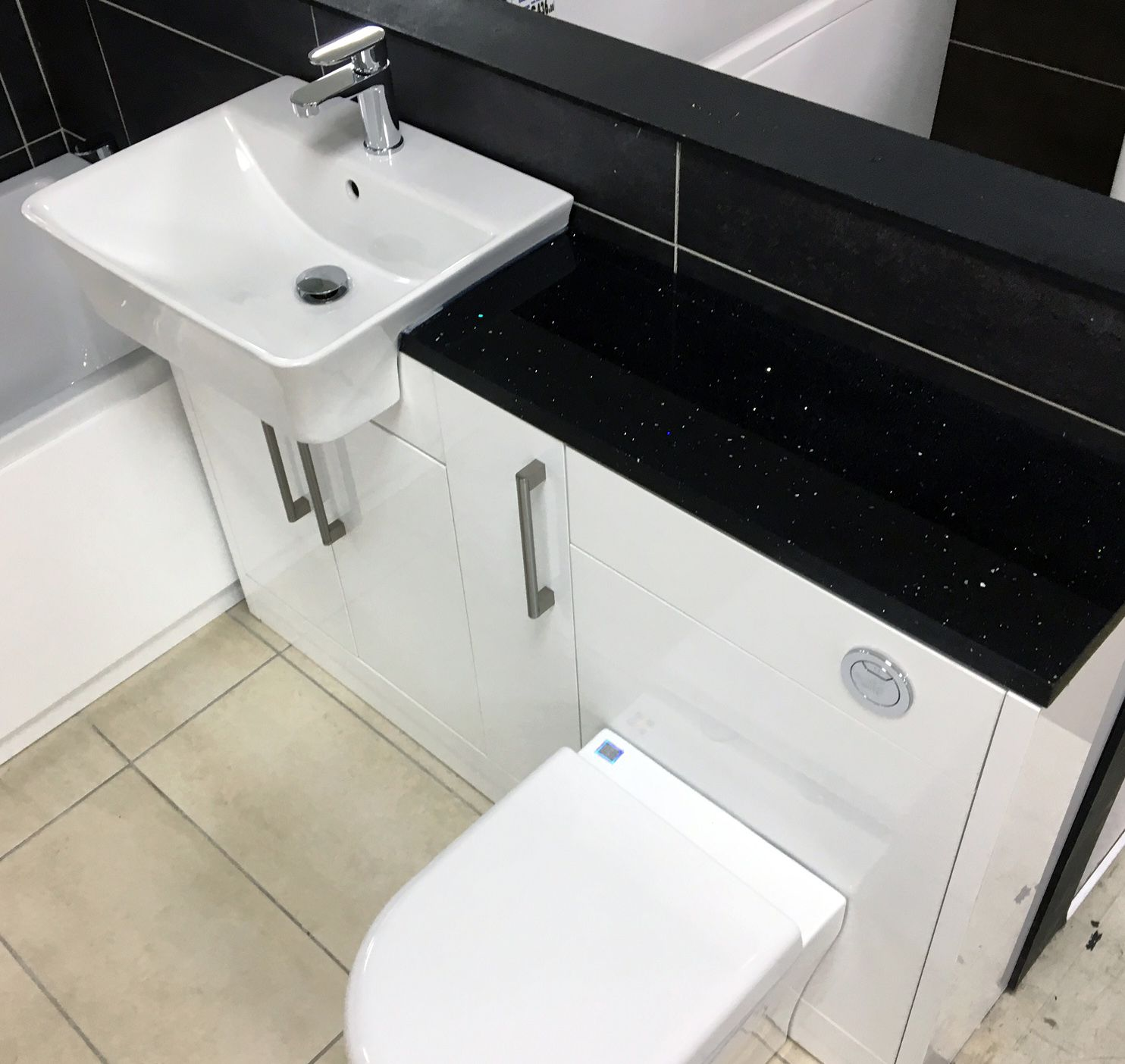 Gem granite bathrooms - Our Gems Bespoke Bathroom Furniture Is Manufactured Locally In The Uk And Selected Sets Come