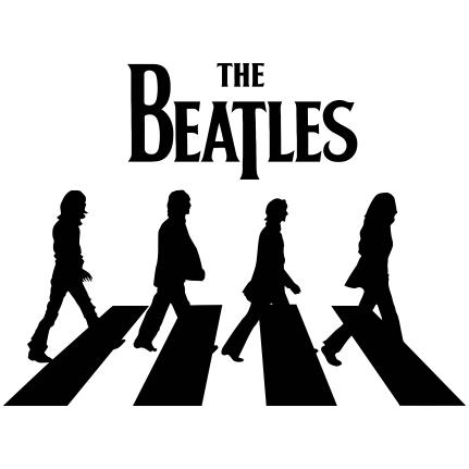 Estampa Para Camiseta The Beatles 002137